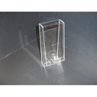 "BB8C - 8"" X 8"" X 8"" - Clear with Lever Lock"