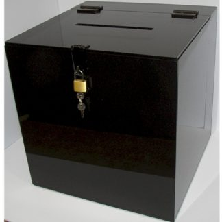 "BB10C 10"" X 10"" X 10"" - Clear with Lever Lock"