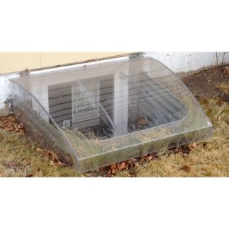 "Domed Egress Window Well Cover - 42"" X 38""-0"