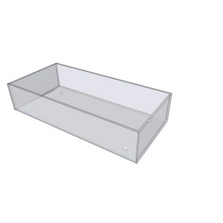 "2228 - 12"" X 8"" X 4"" - Counter Top With Feet"