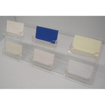 Multi Pocket Business Card Holder