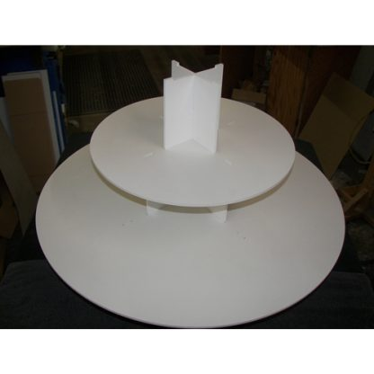 Round Cake Risers - Clear Acrylic