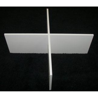 """AR124XP - 4"""" X 12"""" - White Foam PVC"""