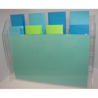 8 Pocket Lottery Display with Sign Holder