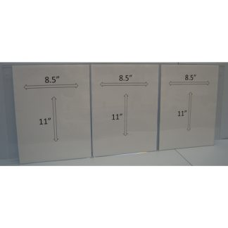 "WM85113XS - 3-8.5"" X 11"" holders"