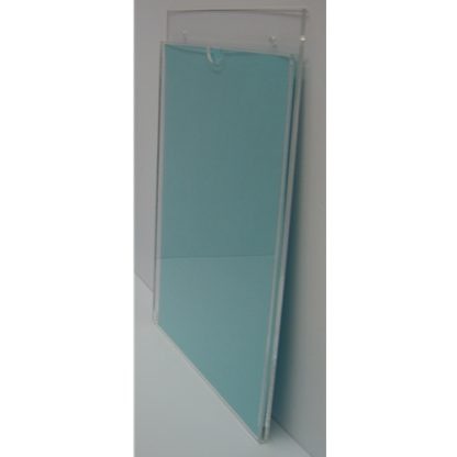 """WM8511S3STN - 8.5"""" X 11"""" (Portrait - """"Mini Pocket"""" Sign Holder with Screw Holes) - Without Tape"""