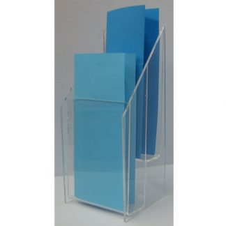 "FSBH40802T - 4"" X 8"" Portrait - Without a Business Card Holder"