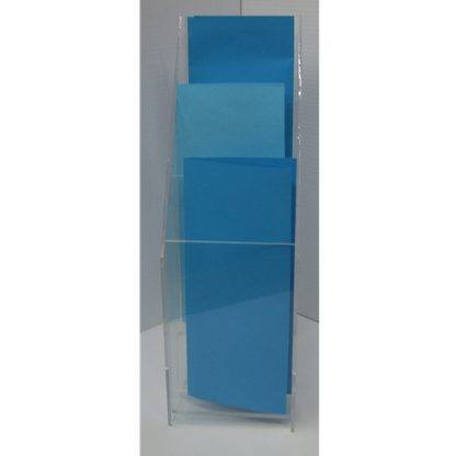 """FSBH40803T - 4"""" X 8"""" Portrait - With Vertical Business Card Holder"""
