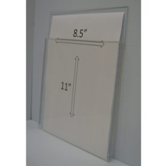 "WMPH8511 - 9"" X 11"" (portrait - 1/2"" Deep Pocket) - Tape Mount"