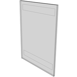 "WM9012FT - 9"" X 12"" (Portrait - Flush with Tape)-0"