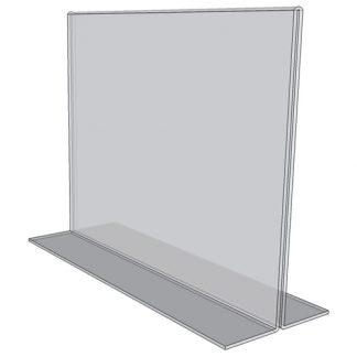 Countertop- Sign Holders- Open Bottom