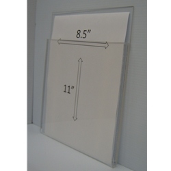 "WMPH8511 - 9"" X 11"" (portrait - 1/2"" Deep Pocket)-0"