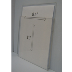 "WMPH8511 - 9"" X 11"" (portrait - 1/2"" Deep Pocket)-0"