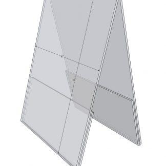A-Frame acrylic Sign Holders