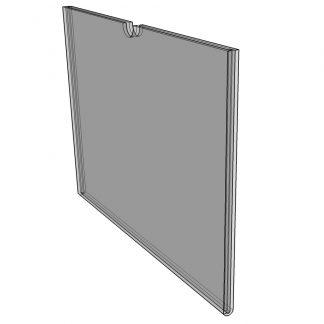 "WM1485F3STN - 14"" X 8.5"" (Landscape - Flush ""Mini Pocket"" Sign Holder) - With Velcro-0"